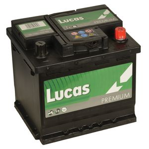 LP012UR Lucas Premium Car Battery 12V 52Ah
