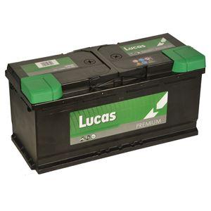 LP020 Lucas Premium Car Battery 12V 110Ah
