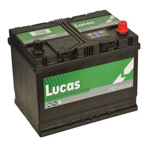 LP068 Lucas Premium Car Battery 12V 68Ah