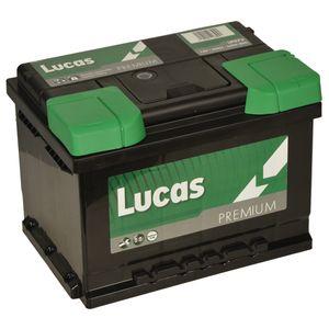 LP075 Lucas Premium Car Battery 12V 60Ah