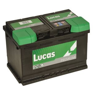 LP096 Lucas Premium Car Battery 12V 75Ah