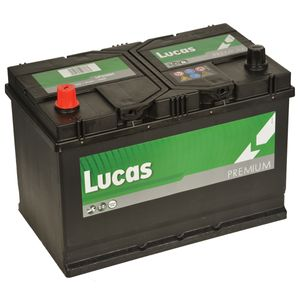 LP250H Lucas Premium Car Battery 12V 91Ah