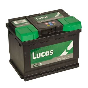LP078 Lucas Premium Car Battery 12V 56Ah