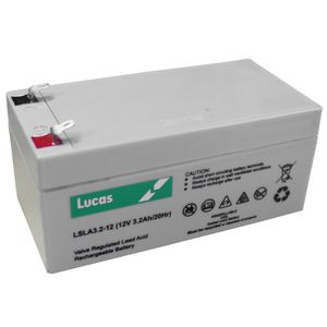 LSLA3.2-12 Lucas Sealed Lead Acid Battery 12V 3.2Ah
