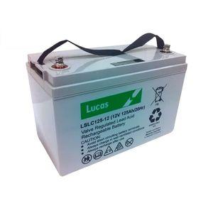 LSLC125-12 Lucas AGM SLA Cyclic Battery 125Ah
