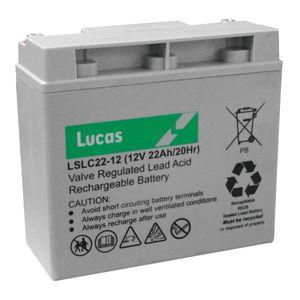 Lucas 22Ah Mobility Battery LSLC22-12