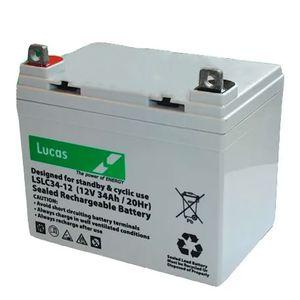 Lucas SLC 34-12 Mobility Battery 12V 34Ah