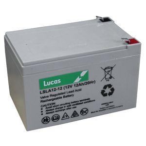 Lucas LSLA12-12 Mobility Battery 12V 12Ah