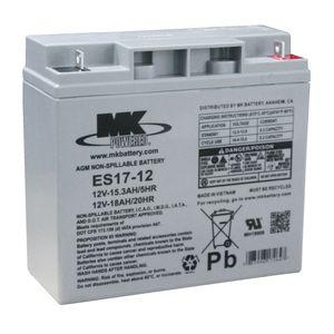 ES17-12 12V 17Ah Sealed Lead Acid