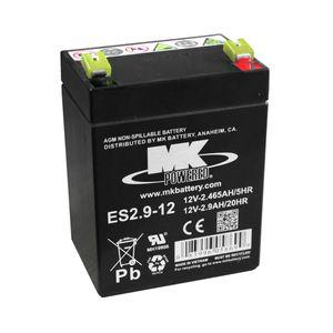 MK ES2.9-12 Rechargeable SLA Battery