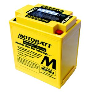 MB10U MOTOBATT Quadflex AGM Bike Battery 12V 14.5Ah