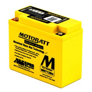 MBT12B4 MOTOBATT Quadflex AGM Bike Battery 12V 11Ah