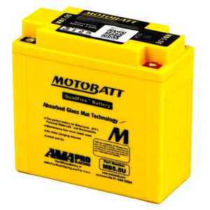 MB5.5U MOTOBATT Quadflex AGM Bike Battery 12V 7Ah