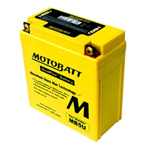 MB5U MOTOBATT Quadflex AGM Bike Battery 12V 7Ah