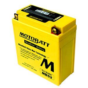 MB5U MOTOBATT Quadflex AGM Batterie Moto 12V 7Ah