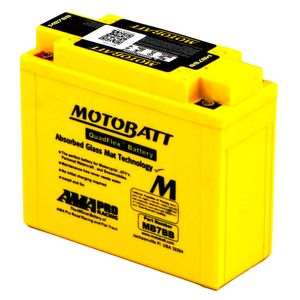 MB7BB MOTOBATT Quadflex AGM Bike Battery 12V 9Ah