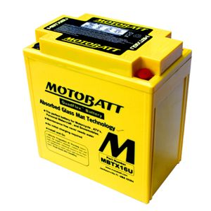 MBTX16U MOTOBATT Quadflex AGM Bike Battery 12V 19Ah