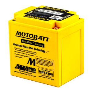 MBTX30U MOTOBATT Quadflex AGM Bike Battery 12V 32Ah