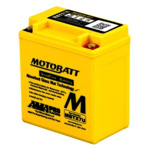MBTX7U MOTOBATT Quadflex AGM Bike Battery 12V 8Ah