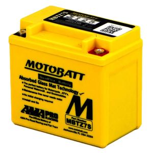 MBTZ7S MOTOBATT Quadflex AGM Bike Battery 12V 6Ah