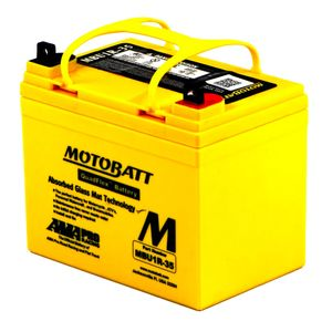 MBU1R-35 MOTOBATT Quadflex AGM Bike Battery 12V 35Ah