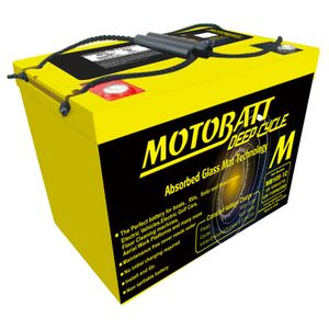 MB110-12 MOTOBATT AGM Deep Cycle Leisure Battery 12V 112Ah