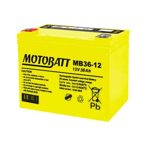 MB36-12 MOTOBATT AGM Mobility Battery 12V 36Ah