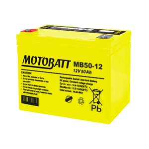 MB50-12 MOTOBATT AGM Mobility Battery 12V 50Ah
