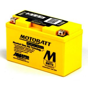 MB7U MOTOBATT Quadflex AGM Bike Battery 12V 6.5Ah
