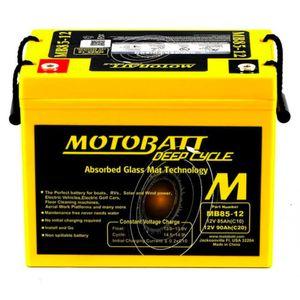 MB90-12 MOTOBATT AGM Deep Cycle Leisure Battery 12V 90Ah