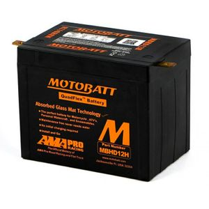 MBHD12H MOTOBATT AGM Bike Battery 12V 33Ah