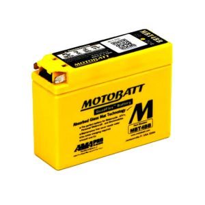 MBT4BB MOTOBATT Quadflex AGM Bike Battery 12V 2.5Ah
