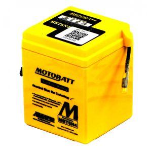 MBT6N4 MOTOBATT Quadflex AGM Batterie Moto 6V 4Ah
