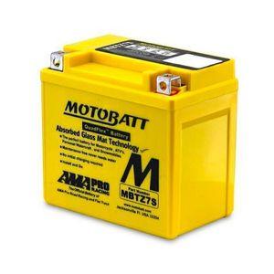 MBTZ7S MOTOBATT AGM Batterie Moto 12V 6Ah