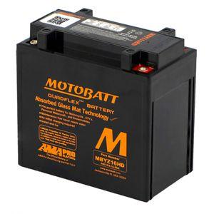 MBYZ16HD MOTOBATT Quadflex AGM Bike Battery 12V 16Ah
