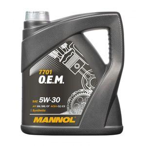 Mannol 7701 OEM 5W-30 Engine Oil 4L