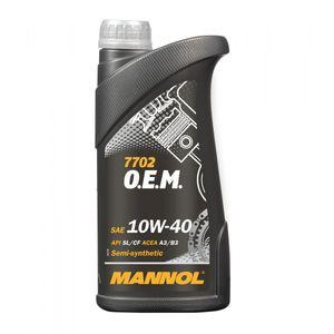 Mannol 7702 OEM 10W-40 Engine Oil 1L