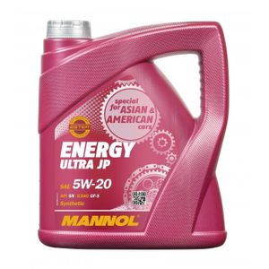 Mannol 7906 Energy Ultra JP 5W-20 Engine Oil 5L