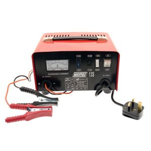 Maypole MP713 12V 8A Metal Battery Charger
