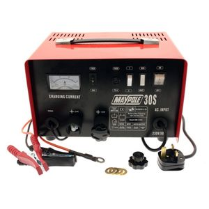 Maypole MP730 12/24V 20A Metal Battery Charger