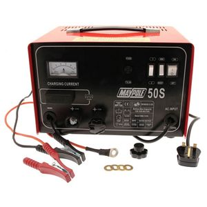 Maypole MP750 12/24V 30A Metal Battery Charger