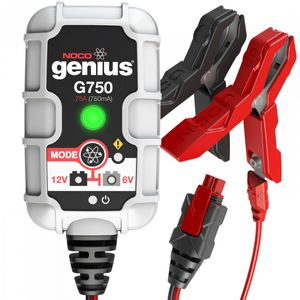 NOCO G750 0.75A Ultrasafe 6V / 12V Genius Battery Charger