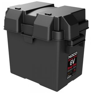 NOCO HM306BK 6 Volt Snap-Top Battery Box