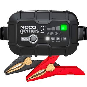NOCO GENIUS2UK 2A Ultrasafe 6V / 12V Battery Charger and Maintainer