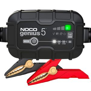 NOCO GENIUS5UK 5A Ultrasafe 6V / 12V Battery Charger and Maintainer