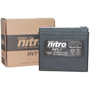 HVT-1 Nitro Motorcycle Battery - HVT 01 - YTX20L-BS