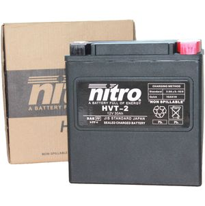 HVT-2 Nitro Motorcycle Battery - HVT 02