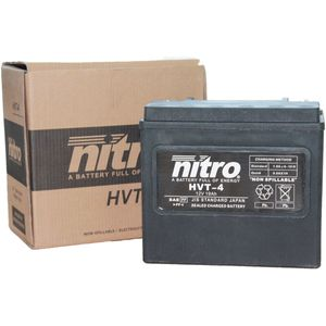HVT-4 Nitro Motorcycle Battery - HVT 04