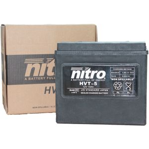 HVT-5 Nitro Motorcycle Battery - HVT 05