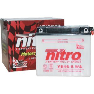 YB16-B Nitro Motorcycle Battery YB16-B WA